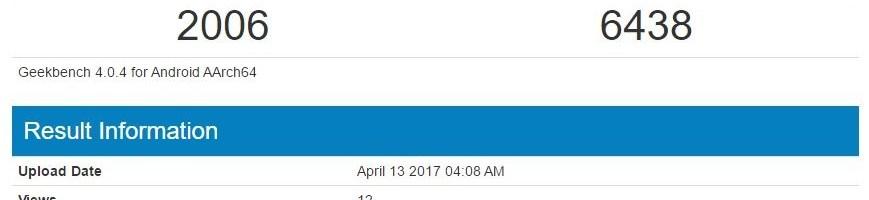Xiaomi Mi 6: ecco l'ottimo punteggio ottenuto su GeekBench