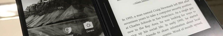 Vernee Thor E: la fusione tra un e-book reader ed uno smartphone