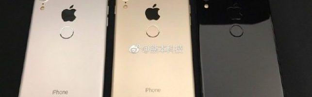 iPhone 8: appaiono le immagini di un dispositivo con il TouchID sul retro