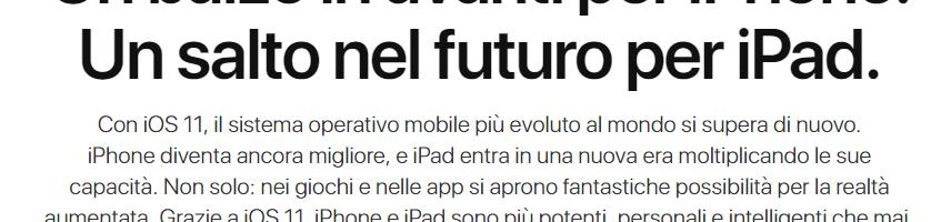 iOS 11: novità interessanti pensate per gli iPad