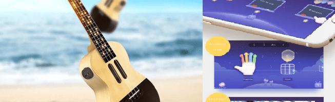 Un ukulele smart (lo Xiaomi Populele?) disponibile all'acquisto su GearBest