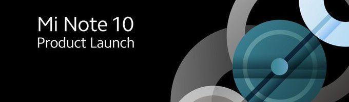 Xiaomi Mi Note 10: ecco dove seguire la presentazione in live streaming