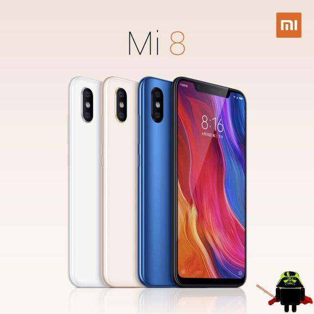 1 - Xiaomi Mi 8