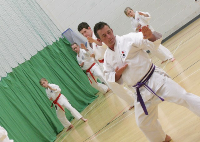 Training Evening at Dartmouth Karate Club