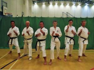 Dartmouth Karate Club Black Belts