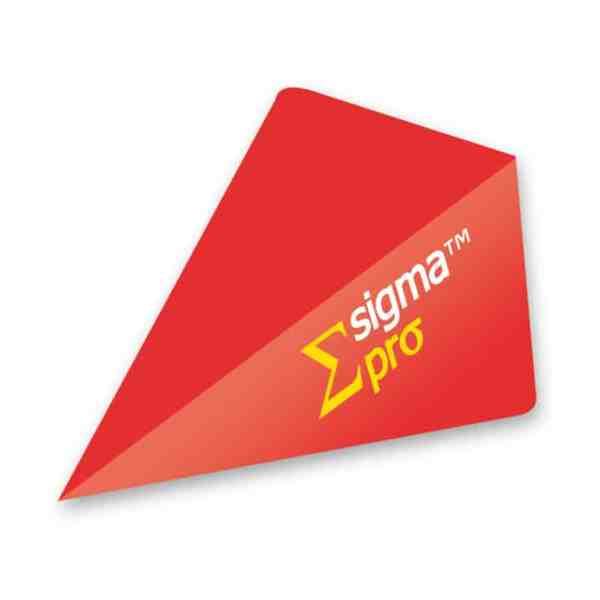 Unicorn Sigma Pro Dart Flights - Red