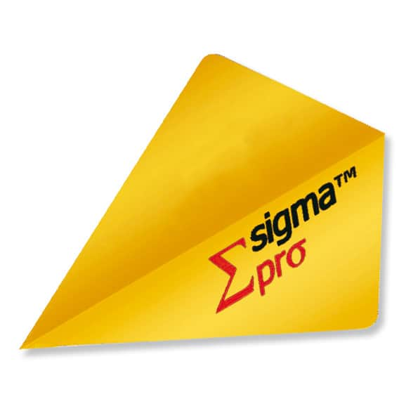 Unicorn Sigma Pro Dart Flights - Gold