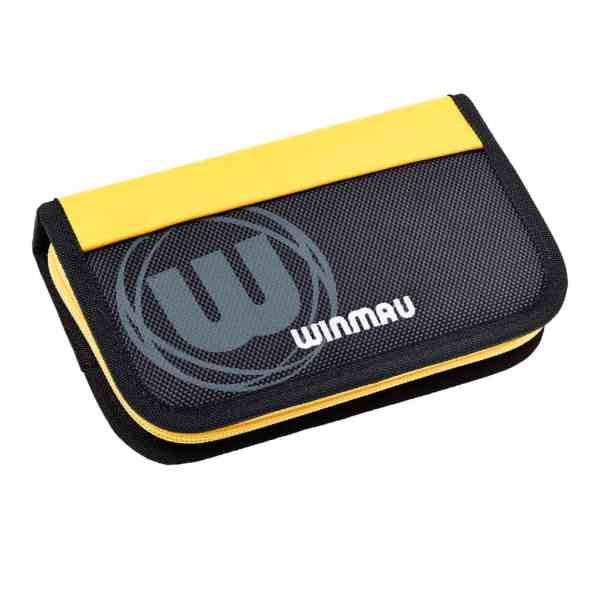 Winmau Urban-Pro Yellow & Black Dart Case