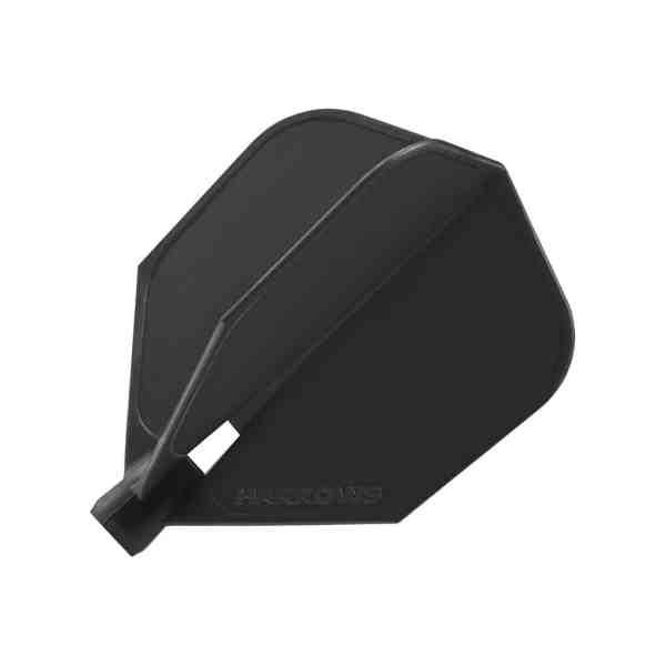 Harrows Clic System Black Dart Flights