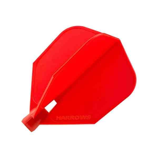 Harrows Clic System Red Dart Flights