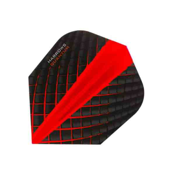 Harrows Quantum Red Dart Flights