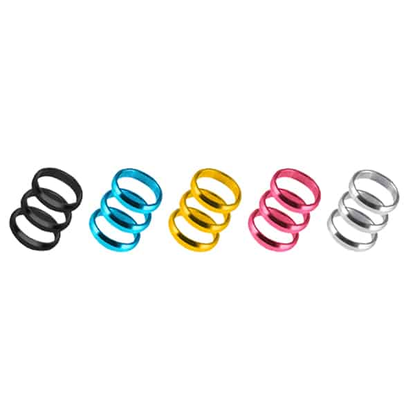 Harrows Coloured Supergrip Rings