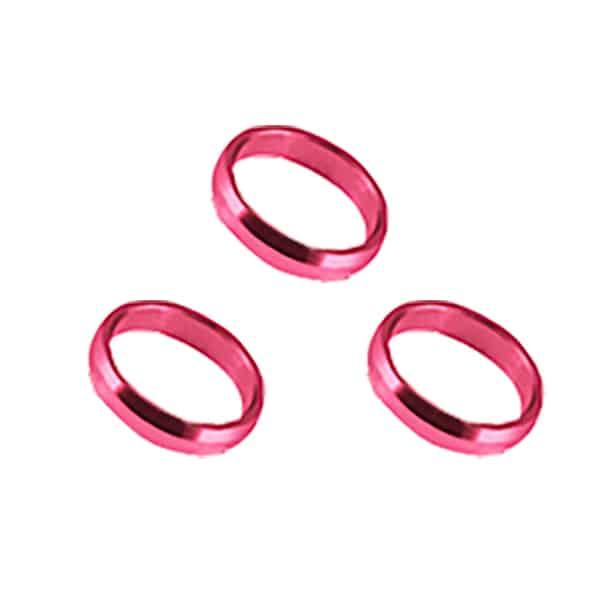 Harrows Pink Supergrip Rings