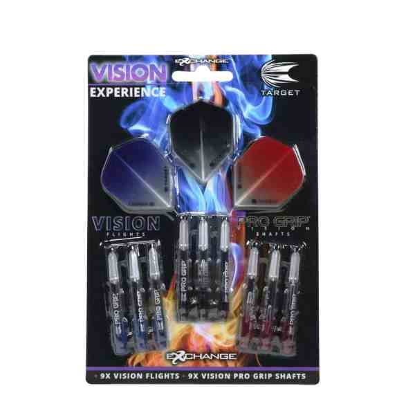 Target Vision Experience - Flights & Grips Goody Pack