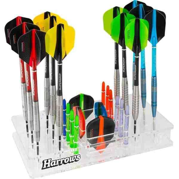 Harrows Darts Station - Acrylic Darts Stand