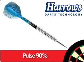Harrows Pulse 90% Tungsten Darts