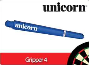 Unicorn Gripper 4 Dart Stems