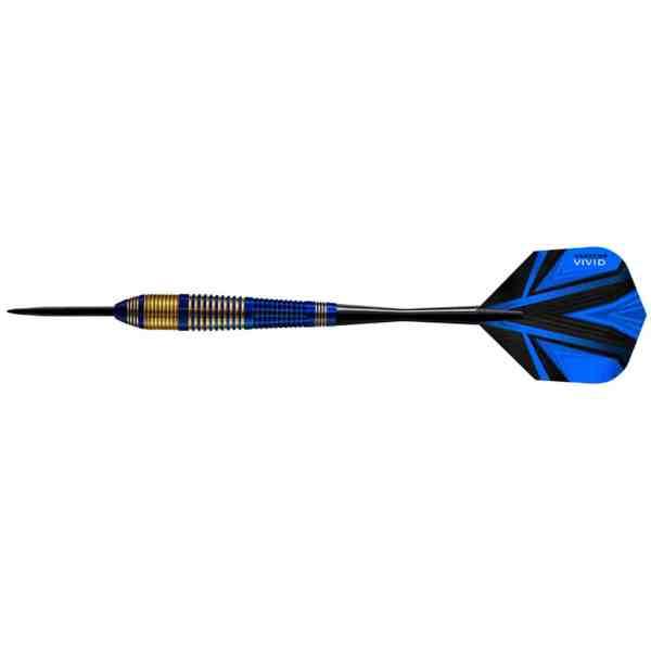 Harrows Vivid Brass Blue 23g Darts