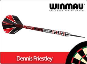 Winmau Dennis Priestley Darts