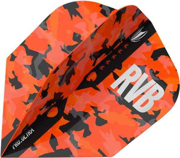 Target RVB Barney Army TEN-X Camo Pro Ultra Dart Flights