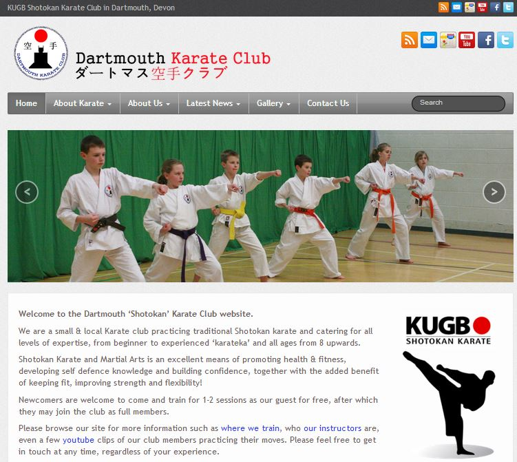 New Website for : Dartmouth Karate Club