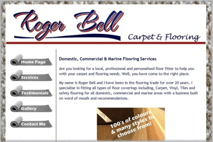 Roger Bell - Carpet & Flooring Fitting services in the South Hams and Torbay area