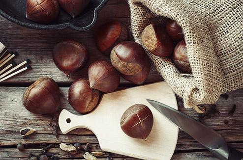 cuisine équipée marron