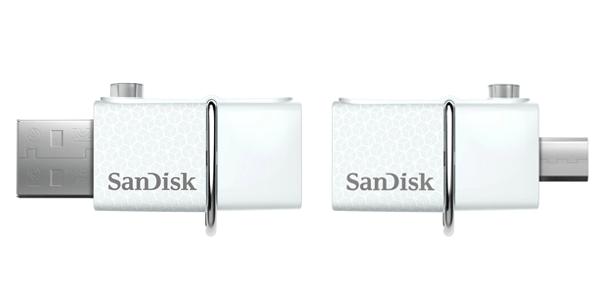 Les clés USB pour smartphone possèdent deux connecteurs différents