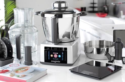 Prsentation du nouveau robot cuiseur Magimix Cook Expert