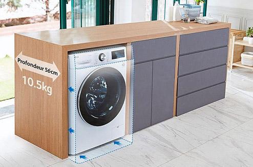 Le Lave Linge Sechant La Solution Au Manque De Place Darty Vous