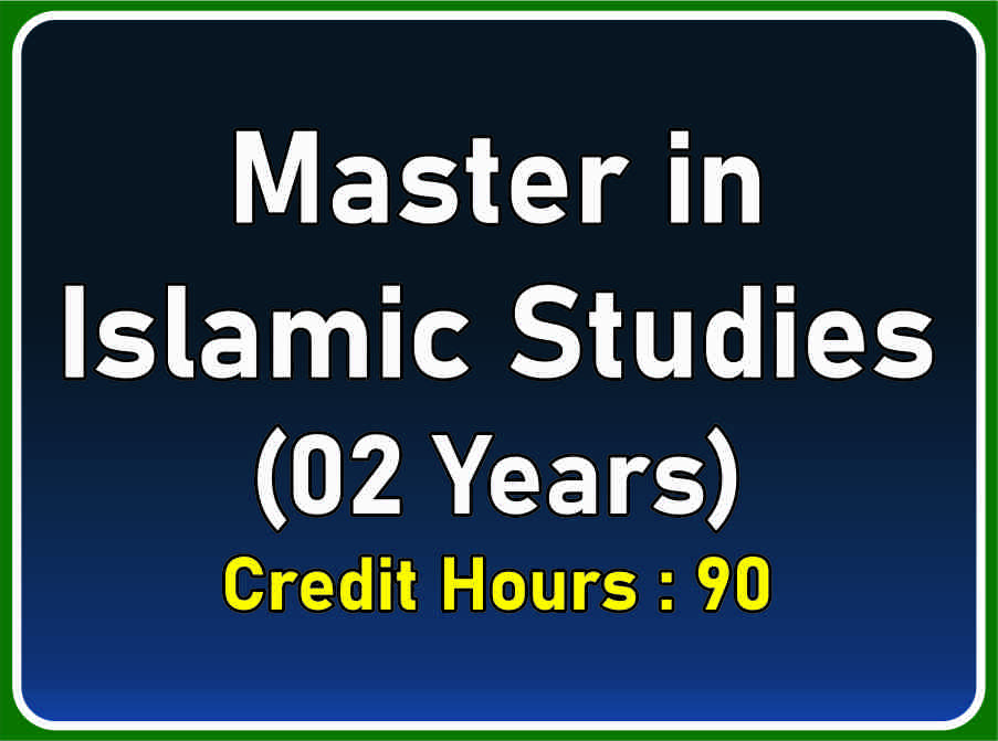 Master in Islamic Studies