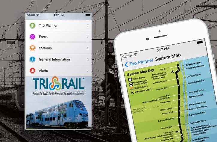 Tri-rail app