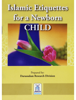 Newborn baby book