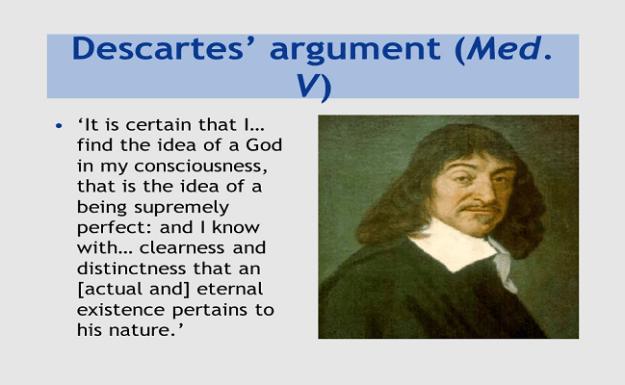 Descartes' Arguments on God's Existence