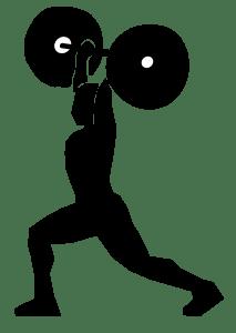 weight lifter clipart