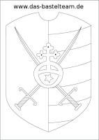 Burgen, Schwerter und Ritter Ausmalbilder bzw. Windows ...