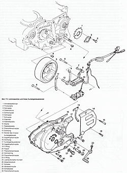 Reparaturanleitung: Honda XL 500 S ab Baujahr 1979