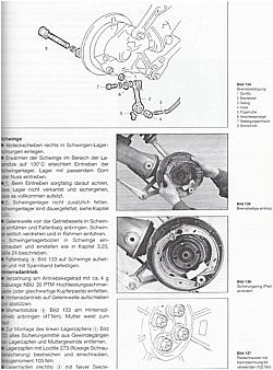 Repair Manual BMW R 80/100 R from 1991 Motorcycle Book