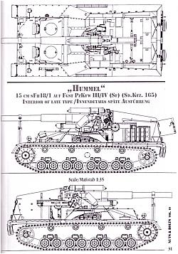 Nuts&Bolts 10: Hummel, 15 cm sFH18/1, Sd.Kfz.165, Panzer