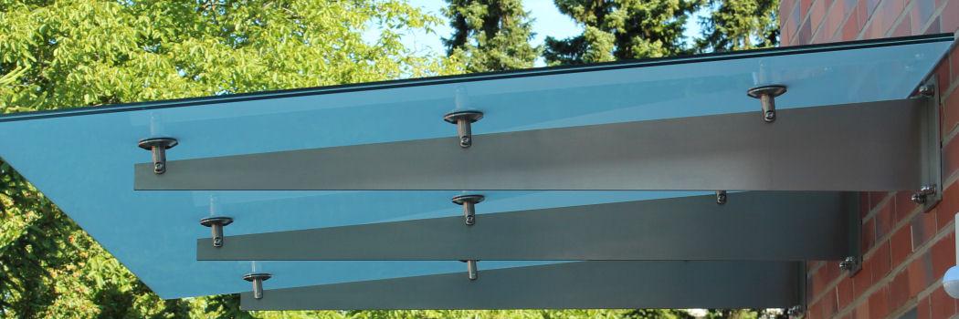 Glasvordächer Und Terrassenüberdachungen Mit Edelstahl