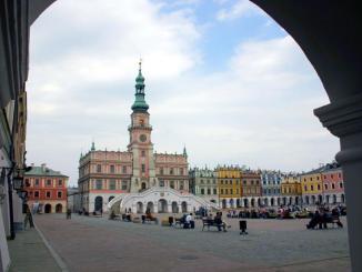 Zamosc, die Renaissance-Stadt in Polen