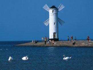 Windmuehle auf der Mole von Swinoujscie, Foto: Polska Organizacja Turystyczna