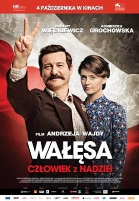 Walesa von A. Wajda, Filmplakat