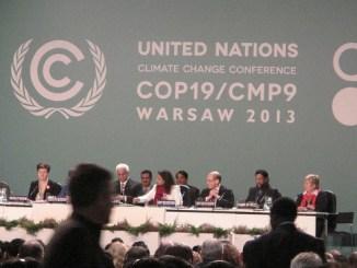 COP 19, Weltklimakonferenz Warschau; Foto: CIDSE-together for global justice, CC BY 2.0