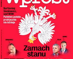 Abhöraffäre in Polen, Foto: Titelseite Wprost, www.wprost.pl