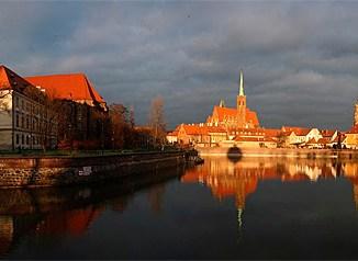 Panorama von Breslau (Woclaw), Foto: Filori, CC-BY-SA 4.0