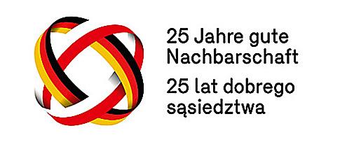 """Logo """"25 Jahre Nachbarschaftsvertrag"""", SDPZ, AA, DPJW"""
