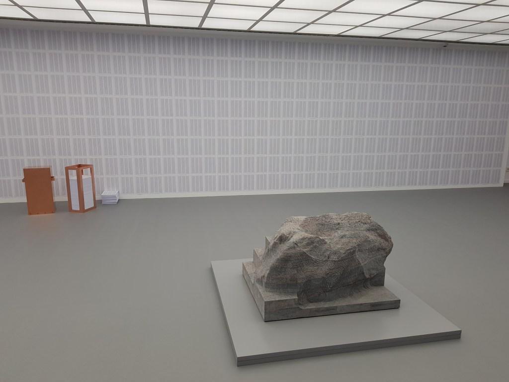 Perception is Reality, Alicja Kwade: Gegebenenfalls die Wirklichkeit, Frankfurt, Das vierte Zimmer