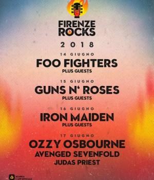 FIRENZE ROCK 2018