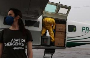 Idrovolante Greenpeace